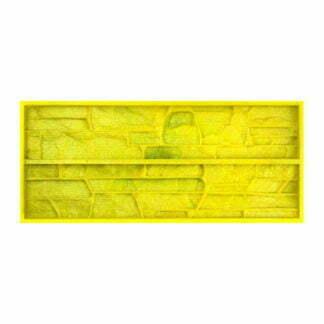 "Flexible polyurethane mold for wall tiles for decorative stone ""Arctic"""