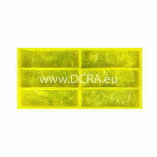 "Elastic polymer mold for wall tiles for decorative stone ""Irish Brick"""