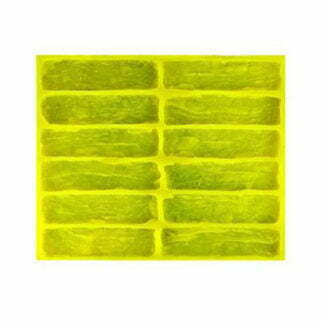 "Flexible polyurethane mold for wall tiles for decorative stone ""Toulouse"""