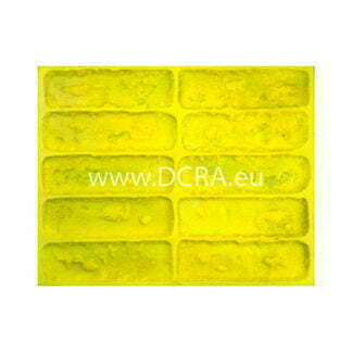 "Flexible polyurethane mold for wall tiles for decorative stone ""Boston"""