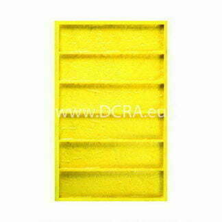 "Flexible polyurethane mold for wall tiles for decorative stone ""Dortmund"""