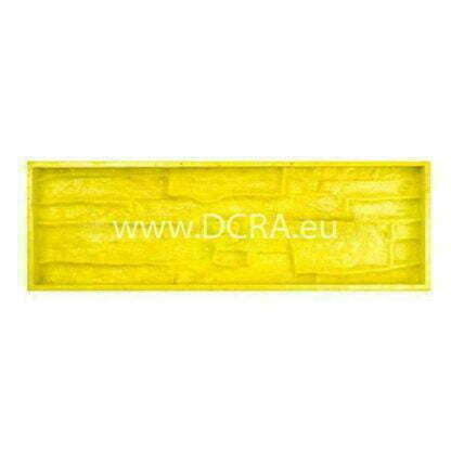 Flexible polyurethane-mold for wall tiles for decorative stone