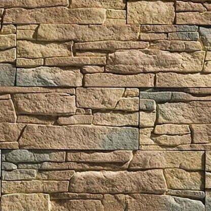 """Flexible polyurethane-mold for wall tiles for decorative stone """"Petra"""""""