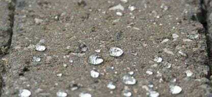 Polymer impregnation for concrete, brick, stone, clinker, sandstone