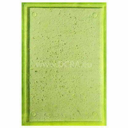 """Flexible polymer forms for faux concrete panels """"Loft-1"""" Size 580 x 385 x 15 mm"""