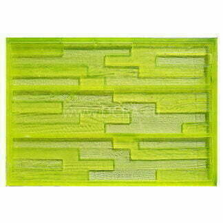 "Flexible polymer forms for plaster tiles, wood imitation ""Sherwood Forest"" (3 subspecies). Size 570 x 125 x 15 mm"