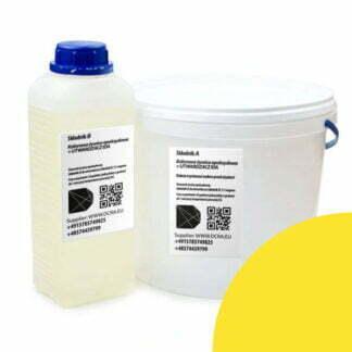 Yellow epoxy resin + IDA hardener