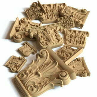 Wood pulp dust for art furniture